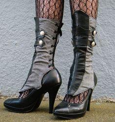 sleek spats.