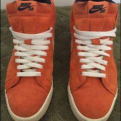 Orange Nike Sb Blazers. Lance Mountains.