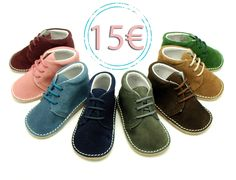 Tienda online de calzado infantil Okaaspain. Calidad al mejor precio fabricado en España. Botita safari pisakk en serraje con cordones.