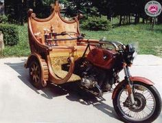 "Royal Ride ! For more trikes, check out the board ""3-Wheeled"" by Skot Silver"