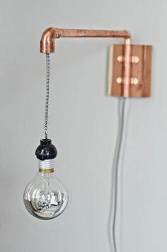 Inspiración: Lamparas DIY