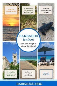 #Barbados For Free: Fun, free things to do on the island!