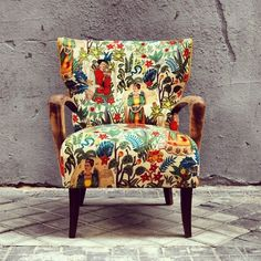 Frida Chair By La Tapicera In Spain - Yahoo Canada Image Search Results