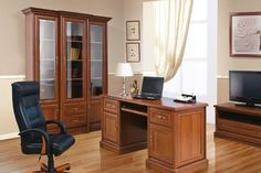 Szín: Gesztenye Anyag: MDF, LMDP (laminált)  www.butornagy.hu Corner Desk, Furniture, Home Decor, Corner Table, Decoration Home, Room Decor, Home Furnishings, Home Interior Design, Home Decoration