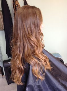 """color melted"" hair color - even softer than ombre"