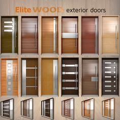 Best Ideas For Wooden Main Door Design Architecture Wooden Main Door Design, Modern Wooden Doors, Contemporary Front Doors, Modern Contemporary, Wooden Interior Doors, Modern Entrance Door, Modern Exterior Doors, Wood Exterior Door, Modern Front Door
