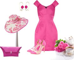 """Untitled #1830"" by msdanasue on Polyvore #Outfits #church#hat"