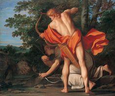 Marcantonio Franceschini, Apollo and Diana Shooting the Python, c. 1692