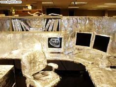Great Happy April Fools Day 2014 Funny Pranks Ideas For Office