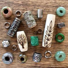 Dreadlock Jewelry, Loc Jewelry, Dreadlock Shampoo, Dread Shop, Dread Wraps, Natural Dreads, Hair Extension Clips, Dreadlock Accessories, Beautiful Dreadlocks
