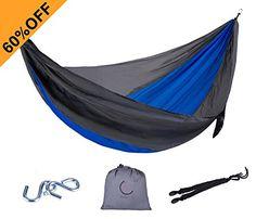 Great Camping Hammock : XCHENG Camping Hammock  Lightweight Parachute Portable Hammocks for Hiking  Travel  Backpacking  Beach  Yard  Portable Lightweight Parachute Nylon Ropes And Special Compression Bag blueXCHENG Camping Hammock  Lightweight Parachute Portable Hammocks for Hiking  Travel  Backpacking  Beach  Yard  Portable Lightweight Parachute Nylon Ropes And Special Compression Bag blue * Read more reviews of the product by visiting the link on the image. Note:It is Affiliate Link to…