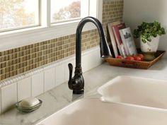 Brantford With Motion Sense By Moen Kitchen Faucet Oil Rubbed Bronze By Moen  Kitchen Faucet Style