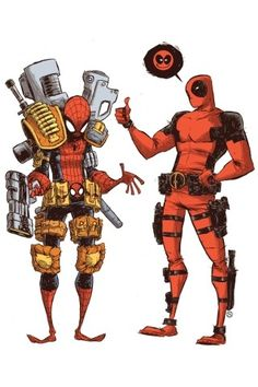 It's not Deadpool's fault he was created by Rob Leifeld...