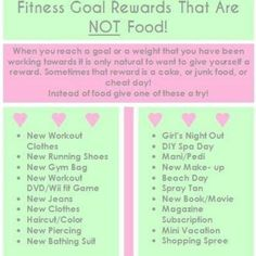 from fat to fit my reward system  weight loss goal