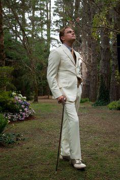 Leonardo DiCaprio as Jay Gatsby, photographed by Douglas Kirkland for Baz Luhrmann's The Great Gatsby.