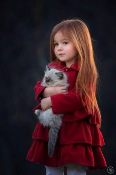 A Girl & Her Kitty