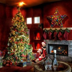 A Neo-Rockwellian Christmas - from Trey Ratcliff at http://www.StuckInCustoms.com - all images Creative Commons Noncommercial