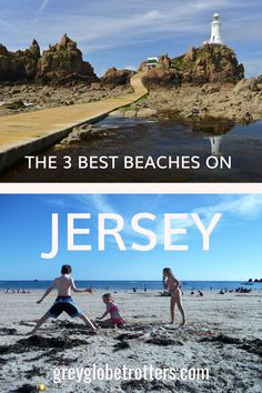 Jersey has no shortage of awesome beaches, but which ones are bucket list goals? Here are the three Jersey beaches you should visit before you die Travel Advice, Travel Guides, Travel Couple, Family Travel, Uk Bucket List, Best Jersey, British Travel, Travel Around Europe, Solo Travel