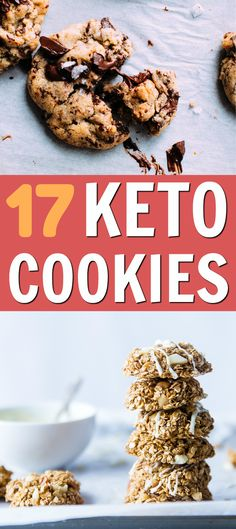 These keto cookies recipes are AMAZING! If you're on the keto diet, you'll love these dessert keto recipes. (Number 5 is my fave!) Try all of these incredible low carb cookies recipes! #keto #ketogenic #ketodiet #ketorecipes #ketocookies