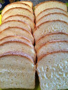 GF Backspaß: Einfaches Weissbrot glutenfreies Weißbrot