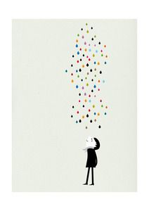 Sweet print for a kids room