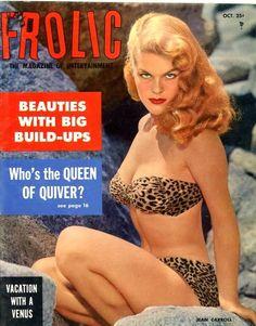 Jean Carroll, Frolic magazine, 1955
