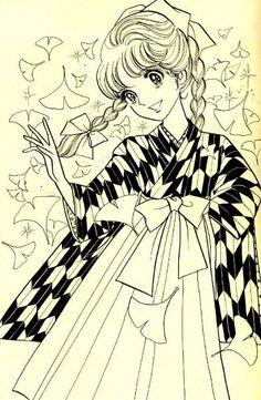 recensione manga – UNA RAGAZZA ALLA MODA (Haikarasan ga Tooru – Mademoiselle Anne) – di Waki Yamato Il Bazar di Mari   Il Bazar di Mari