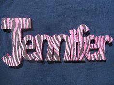Jennifer name design