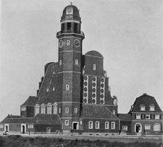 Evangelical church in Düsseldorf-Oberkassel, Germany. Built 1913, architects Verheyen und Stobbe