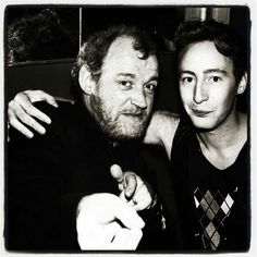 Joe Cocker and Julian Lennon.