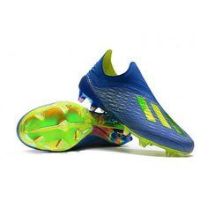 Adidas X 18+ FG Football Boots - Football Blue Solar Yellow Core Black 0c7d011b60d