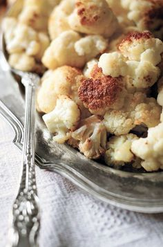 Olive Oil-Roasted Cauliflower