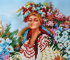 Hey, I found this really awesome Etsy listing at https://www.etsy.com/il-en/listing/290917955/beaded-artwork-ukrainian-woman-in