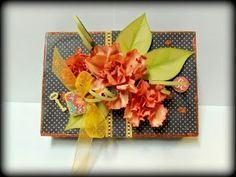 No Name Photo Box and Flower Tutorial