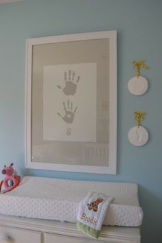 Handprints for nursery