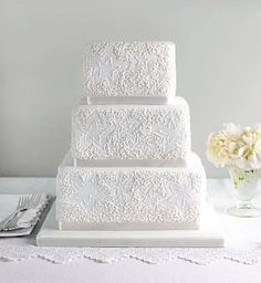 Lace Assorted Wedding Cake - Marks & Spencer