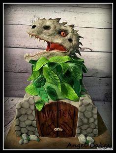 Indominus Rex Cake by Angel Rushing