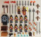 10 NEW LEGO CASTLE KNIGHT MINIFIG LOT Kingdoms LION figures minifigures people