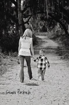 child photography mother and son