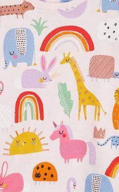 pattern: KIDS DESIGN - next part 1 Textile Pattern Design, Surface Pattern Design, Textile Patterns, Pattern Art, Colour Pattern, Vector Pattern, Abstract Pattern, Kids Prints, Baby Prints
