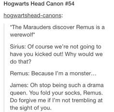 the marauders. Quite sure I've pinned this a dozen times before but I think this is exactly how it went