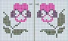 Havlu Small Cross Stitch, Cross Stitch Borders, Cross Stitch Charts, Cross Stitch Embroidery, Hand Embroidery, Cross Stitch Patterns, Knitted Mittens Pattern, Pixel Crochet, Bead Loom Patterns