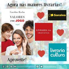 6 meses do lançamento do livro Valores em Jogo!! #EscritoraCarolineRocha #ValoresEmJogo #MeuSeuNossoBlogLiterario #LiteraturaNacional #AmoLer #EuLeioNacional #LiteraturaJuvenil #literatura #amor #amizade #familia #valores