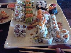 Ajisai Sushi, Ethnic Recipes, Food, Meal, Essen, Hoods, Meals, Eten