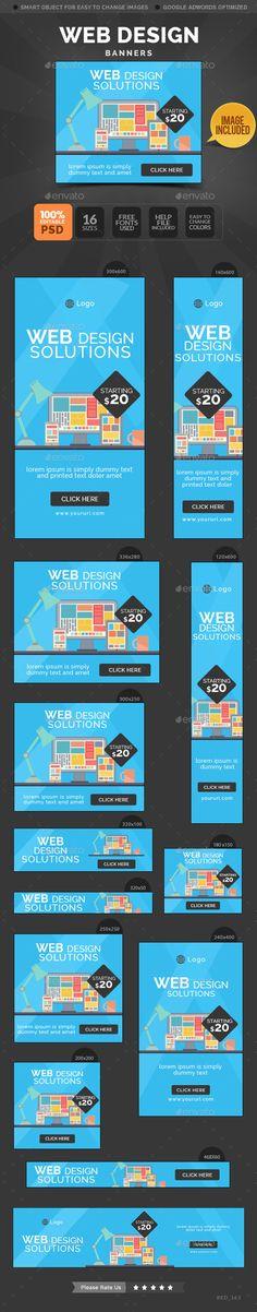 Web Design Banners on Behance