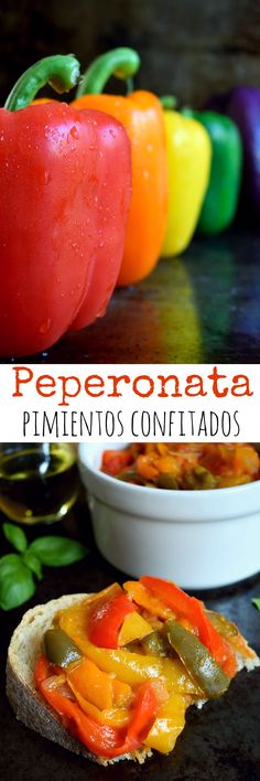 La peperonata es un plato sencillo hecho a base de pimientos confitados, cebolla y tomate – muy básico pero muy, muy delicioso. Servir como entrante o tapa, plato principal o guarnición.