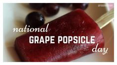 """#20160527 #May27 #USA #NationalDayCalendarUSA #NationalGrapePopsicleDay #GrapePopsicle @Foodimentary Five Facts about Popsicles: 1.Popsicles were originally marketed as """"a frozen drink on a stick"""". 2.Popsicles originally came in seven flavors thought to be root beer, cherry, lemon, orange, banana, grape, and watermelon, but there is no official record of Epperson's original flavors. 3.The most popular Popsicle flavor…"""