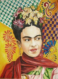 Frida Kahlo por pinupgirl2b