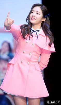 FROMIS_9 - Park JiWon 박지원 180124 #프로미스나인 '약속해줘'