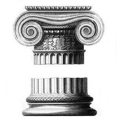 Ионический ордер (схема) — Мегаэнциклопедия Кирилла и Мефодия — медиаобъект